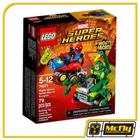 LEGO SUPER HEROES 76071 Spider Man vs. Scorpion